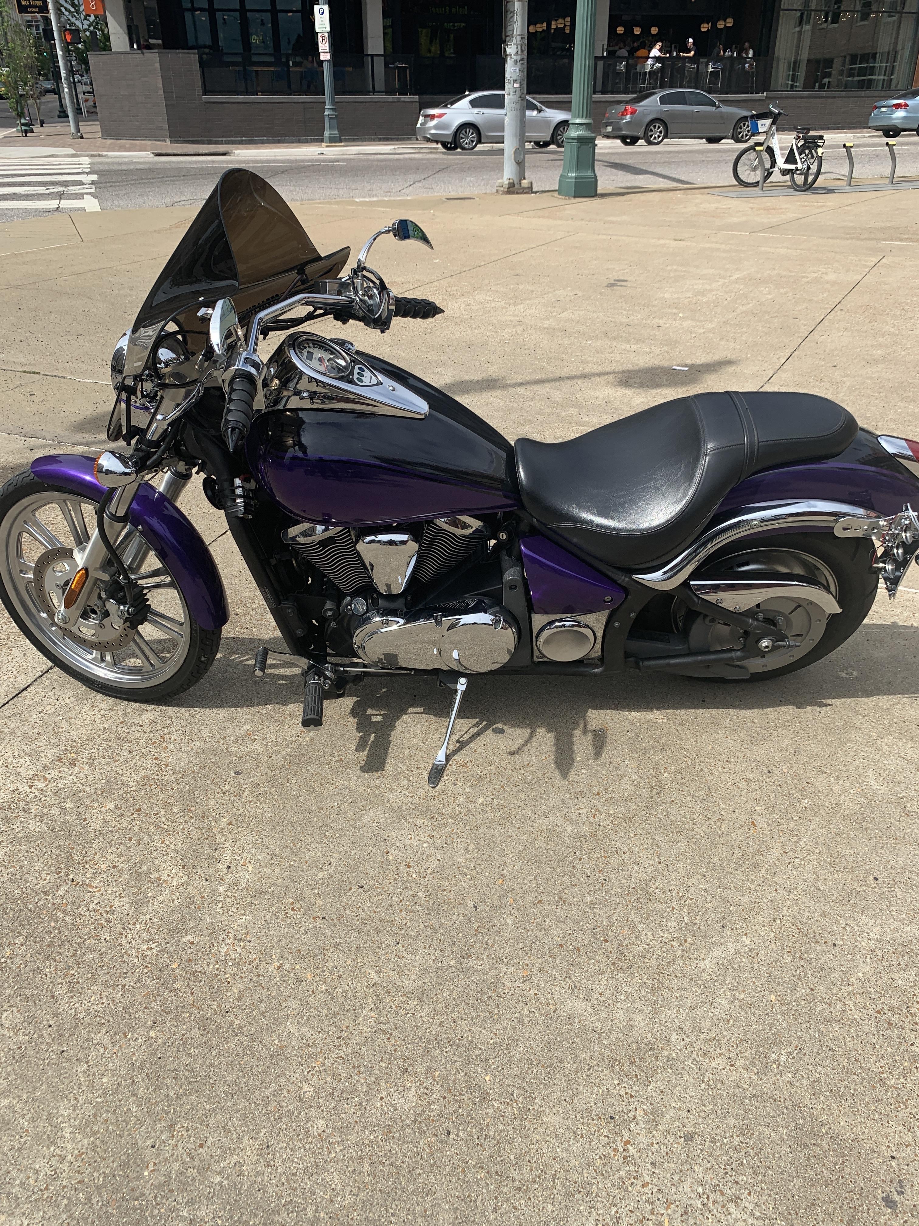 Photo 2008 Kawasaki VULCAN 900 CUSTOM $350088.5588.55