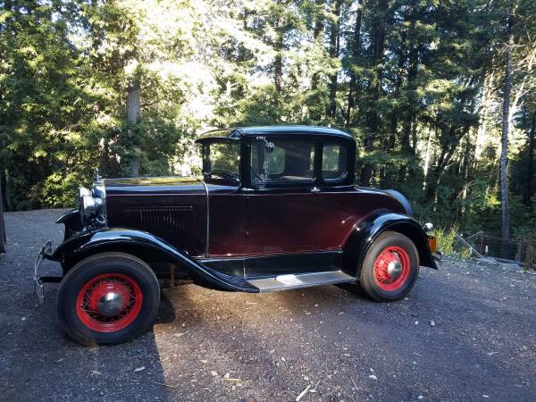 Photo 1930 Ford Model A - $22,000 (Willits)