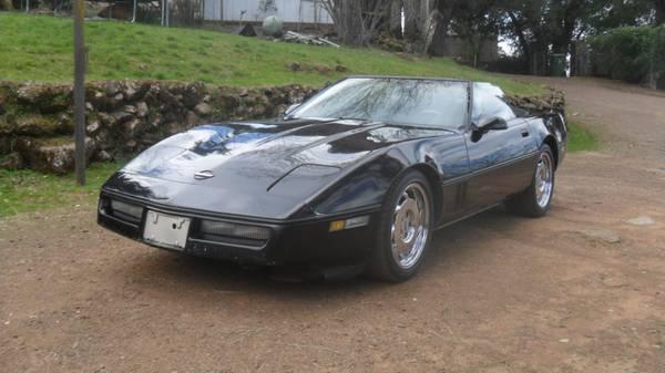 Photo 1986 Corvette convertible - $1000 (Lower Lake)