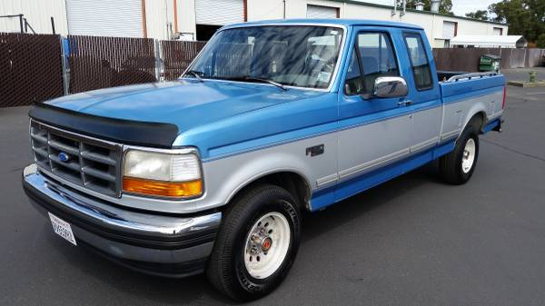 Photo 1993 Ford F150 4.9 6cyl, 5spd manual - $6500 (Ukiah)