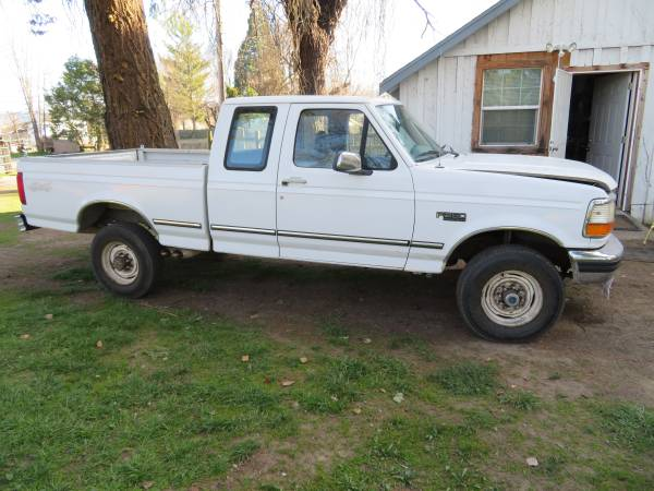 Photo 1997 Ford F250 Ext cab 4x4 XLT - $1 (Covelo)