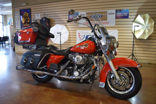 Photo 2004 Harley Davidson Road King FLHR Firefighter Special Edition - $7,500 (Lathrop)