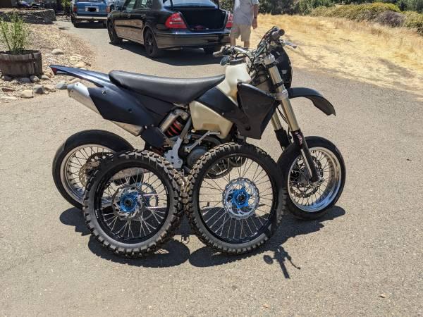 Photo 2004 KTM 450 EXC - $6,000 (El Dorado Hills)