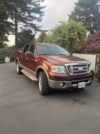 Photo 2006 Ford F150 Super Crew King Ranch--SOLD - $13,000 (Mendocino)
