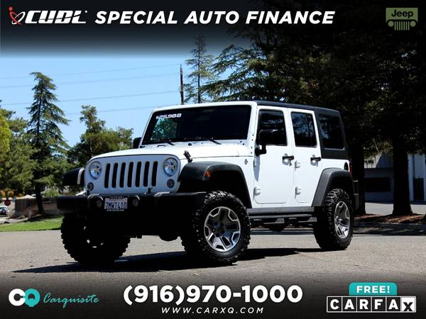 Photo 2015 Jeep Wrangler Unlimited JK Hard Top 4x4 6 Speed Manual 4 Doors - $23877 (Jeep Wrangler Unlimited 2015 Car SUV Truck CUDL)