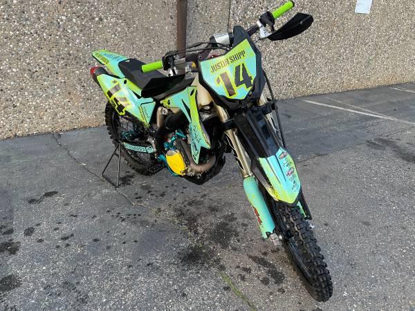 Photo 2015 Suzuki RM-Z 450 - $4,900 (Sacramento)