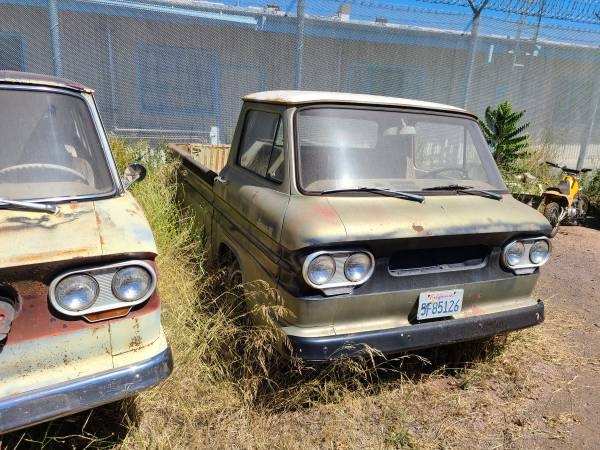 Photo 2 1961 Chevy, Corvair Rsides 4 sale - $3,500 (Ukiah)