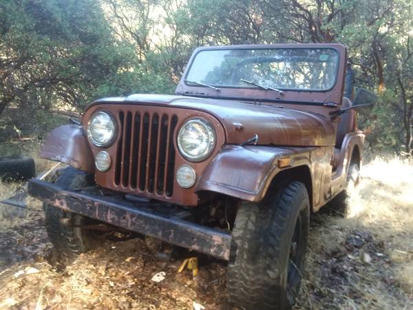 Photo 78 cj5 jeep - $1000 (Willits)