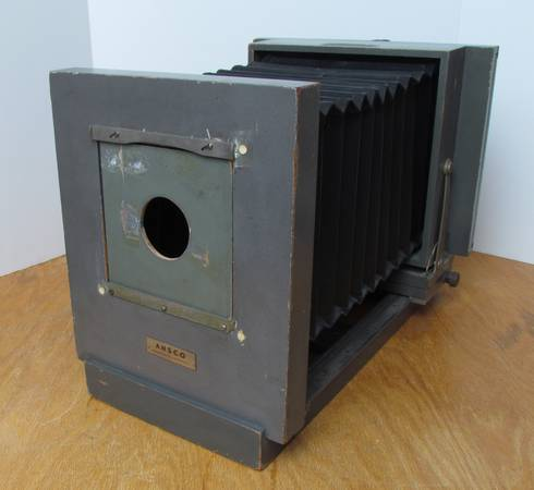 Photo Ansco 5x7 Studio Camera - $100 (MENDOCINO)