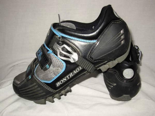 Photo Bontrager Race Lite (RL), womens cycling shoes, size 9.5 - $40 (FOLSOM)