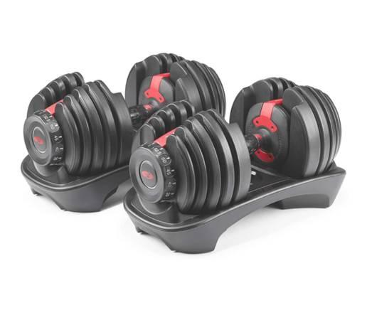 Photo Bowflex 552 Adjustable Dumbbells - Brand New - $550 (El Dorado Hills)