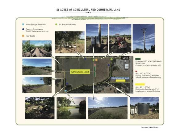 Photo Cannabis property (lakeport, CA)