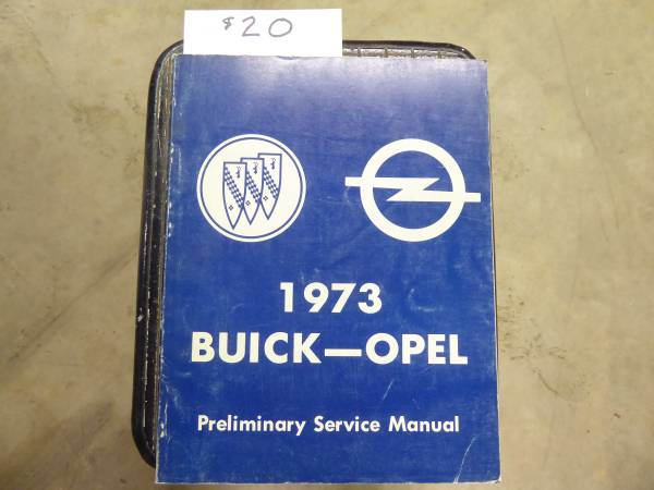 Photo Collection of Authentic Factory Issued Buick Vehicle Manuals - $15 (PENRYN)