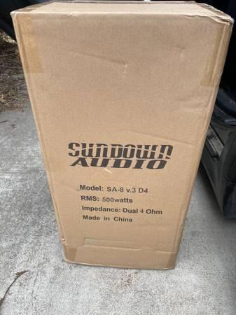 Photo Dc audio 2k  and sa8v3 subs - $940 (Sacramento)