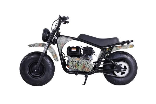 Photo Fat Tire Mini Bike, New 200cc, CAMO - $1,299 (Sacramento)