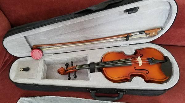 Photo Like New Mendini by Cecilio MV300 18 Size Violin - $40 (Rocklin)