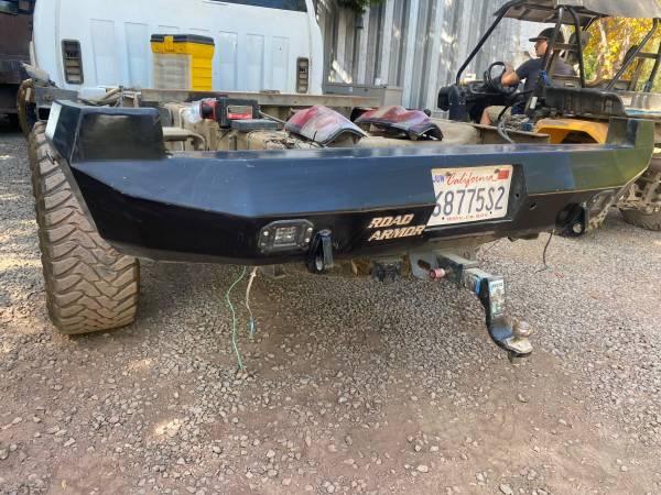Photo Road Armor rear bumper for Chevrolet or GMC trucks - $600 (Yorkville)