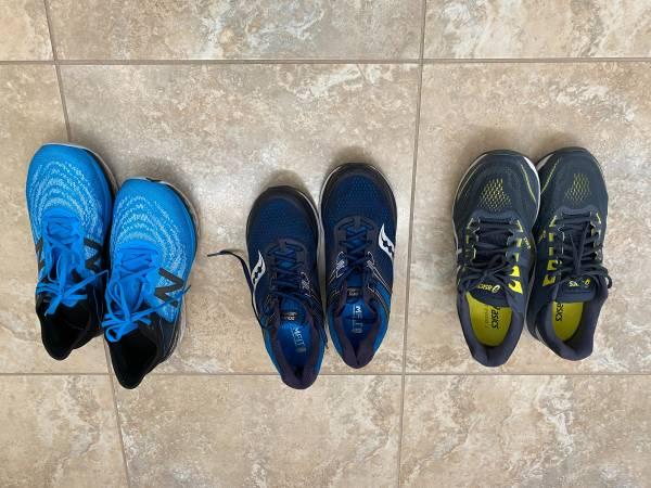 Photo Running Shoes - $75 (Sacramento)