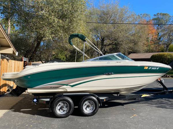 Photo Sea Ray 220 Open Bow Ski Boat - $23,000 (Granite Bay)