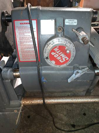Photo ShopSmith Wood Lathe, Saw Drill Press Disc Sander Multi Woodwork tool - $450 (Boonville)