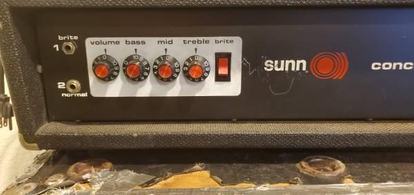 Photo Sunn O)))) concert bass head - $450 (Ukiah)
