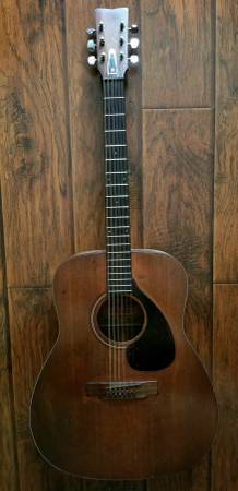 Photo Vintage Yamaha FG 140 acoustic guitar - $180 (Sacramento)