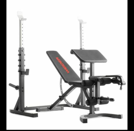 Photo Weider Olympic Workout Bench and squat rack (Brand new still in box) - $399 (Citrus Heights)