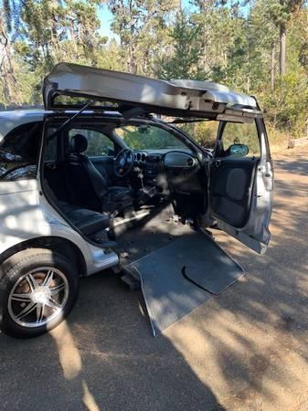 Photo Wheelchair Accessible 2003 PT Cruiser - $3,200 (Little River)