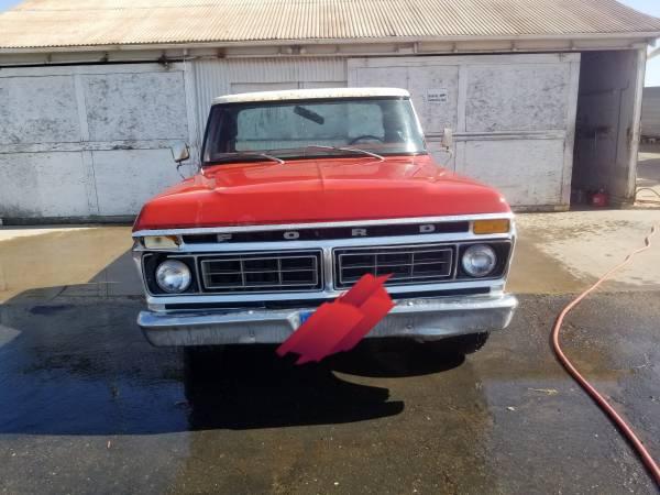 Photo 1977 ford - $2,300 (Merced)