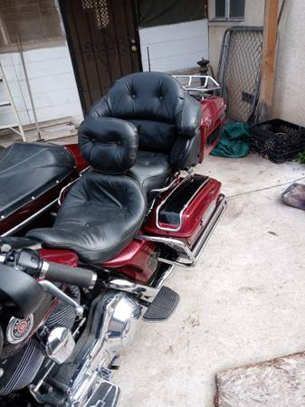 Photo 2001 Harley-davidson with sidecar - $10,500 (Fresno)