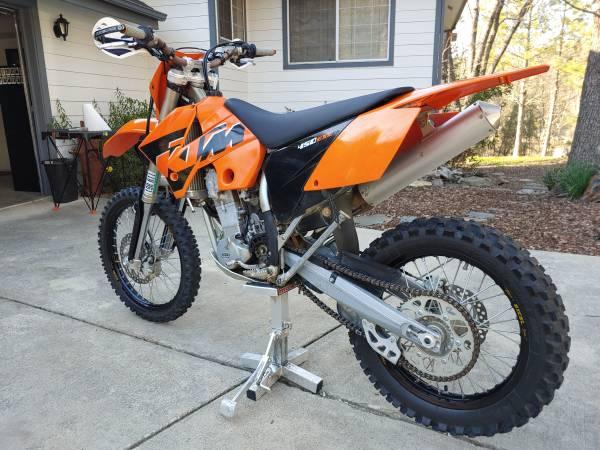 Photo 2005 KTM 450 EXC - $4,100 (Fresno)