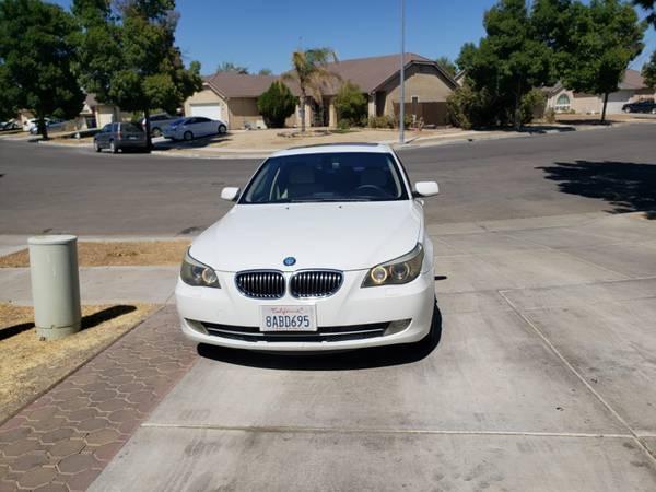 Photo 2008 BMW 528i White Alpine 158k - $6,000 (Los Banos)