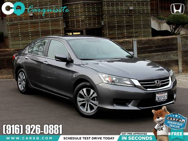 Photo 2013 Honda Accord Reliable Affordable Great on Gas Finance Available - $10865 (Honda Accord 2013 Car SUV Truck CUDL)