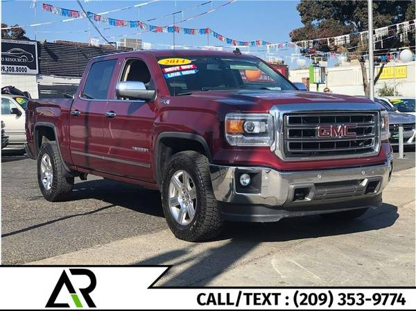 Photo 2014 GMC Sierra 1500 Crew Cab SLT Pickup 4D 5 34 ft Biggest Sale Star (All Credits Welcome)