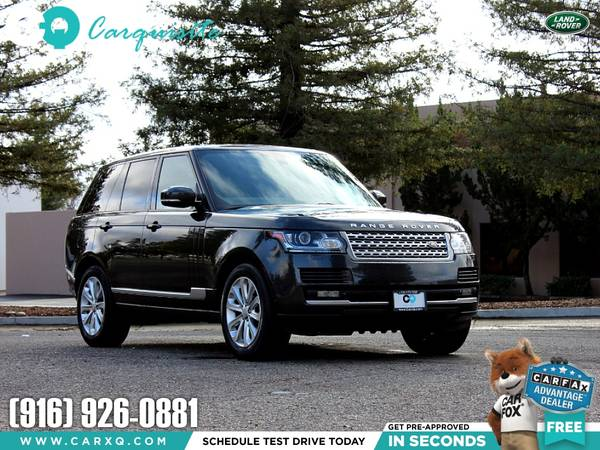 Photo 2015 Land Rover Range Rover HSE - Exceptional - Finance Available - $35988 (Land Rover Range Rover 2015 Car SUV Truck CUDL)