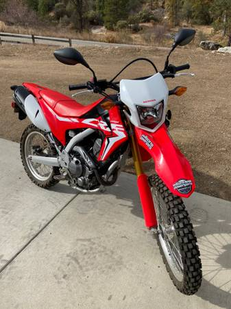 Photo 2017 Honda CRF 250L - $4,500 (Oakhurst)