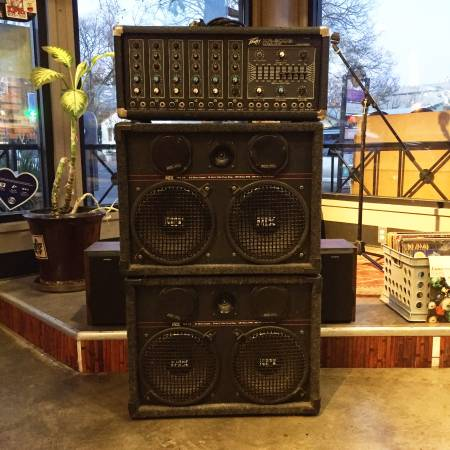 Photo 2 MTX Pro 210 Speakers and Peavey XR-600B Mixer Amp - $180 (Davis)