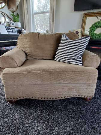 Photo Ashley furniture chair and a half - $300 (Merced)