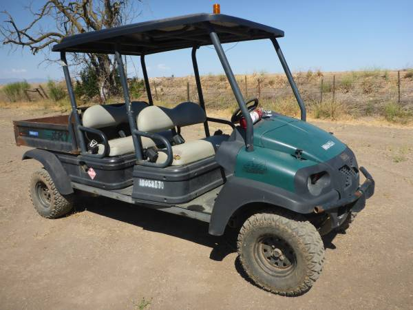 Photo Club Car 4x4 Utility Cart - $7,500 (Merced)