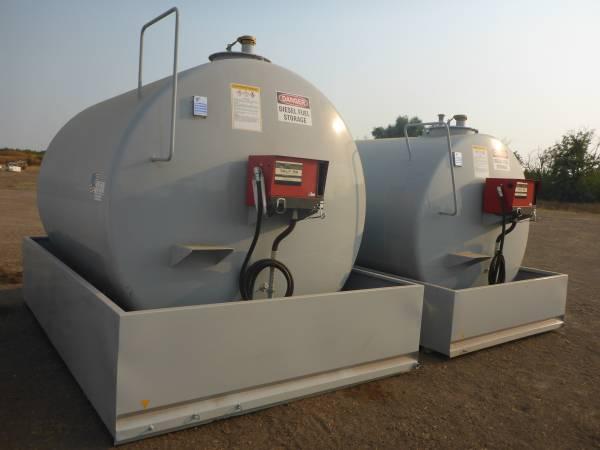 Photo Diesel Fuel Tanks - $5,500 (Merced)