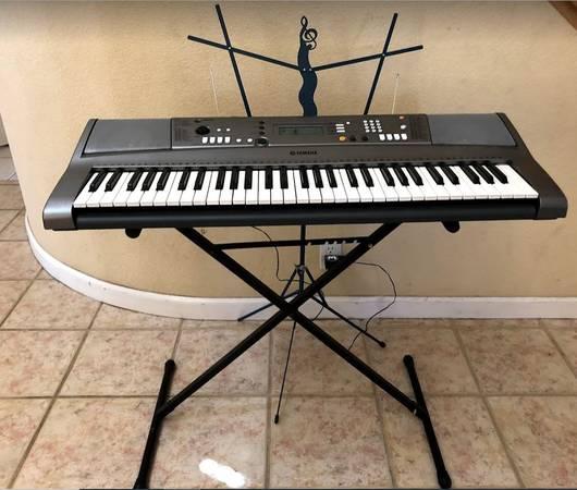Photo Electric Keyboard  Keyboard Stand  Music Sheet Standd  - $340 (Merced)