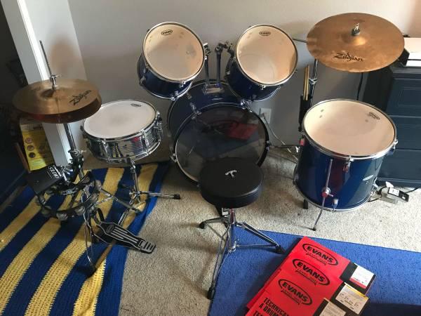 Photo Excel Percussion Drum Kit - $350 (Livingston)