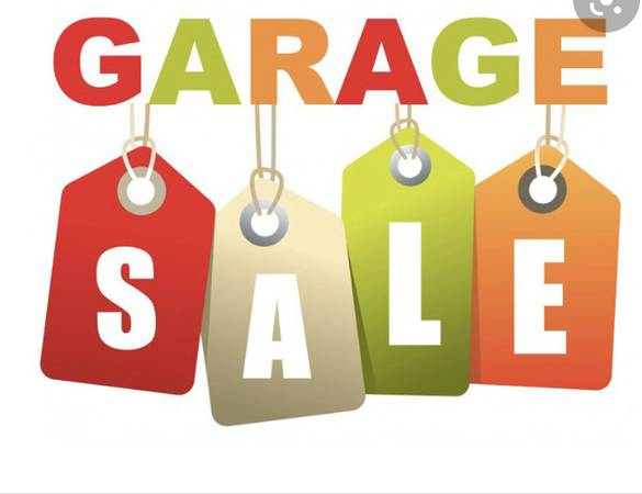 Photo Garage Sale 7am to 11am Stuff a bag full of clothes for just $1 (Los Banos)