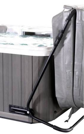 Photo Hot Tub Spa Cover New In Box (merced)