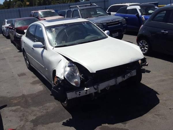 Photo PARTING OUT 2005 INFINITI G35  AUTO PARTS - $1 (Rancho Cordova)