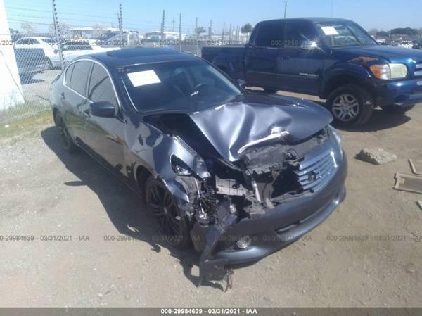 Photo PARTING OUT 2013 INFINITI G37 3.7L V6  AUTO PARTS - $1 (Rancho Cordova)