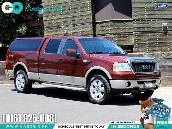 Photo Stunning 2007 Ford F-150 King Ranch 4x4 Cer Shell - Towing Truck - - $9999 (Ford F150 F 150 F-150 2007 Car SUV Truck CUDL)