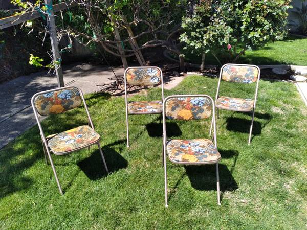 Photo Vintage - Samsonite Folding Chairs - $80 (Merced)