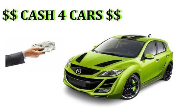 Photo $ Cash 4 Cars $$ Looking 4-Wrecked  Damaged Vehicles (Los Banos)