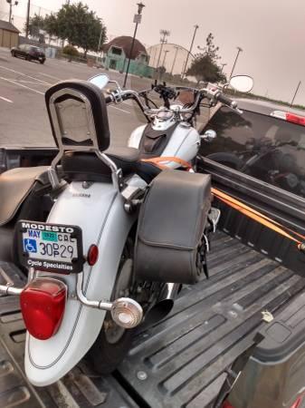 Photo yamaha vstr 650cc - $3,500 (Los Banos)